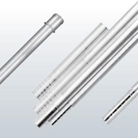 Processed tube